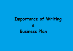 Importance of Writing Effective Business Plan