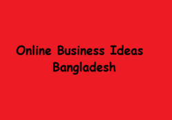 Online Business Ideas in Bangladesh