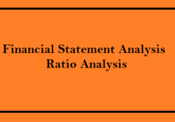 Financial Statement Analysis - Ratio Analysis