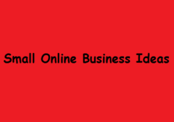 10 Small but Effective Online Business Ideas