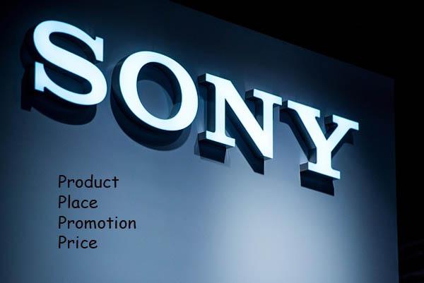 Marketing Mix (4p's) of Sony Corporation