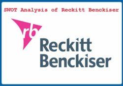SWOT Analysis of Reckitt Benckiser