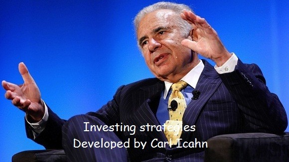 Investing strategies Developed by Carl Icahn